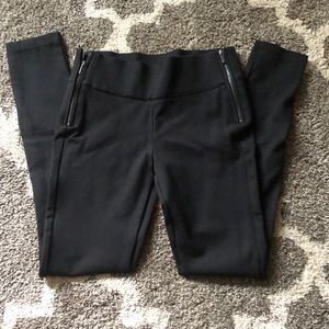 Super thick Zara leggings with side zippers